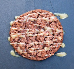 Mexican Chocolate Cookies with Cajeta | spachethespatula.com #recipe
