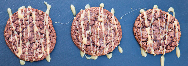 Mexican Chocolate Cookies with Cajeta | spachethespatula.com #recipe