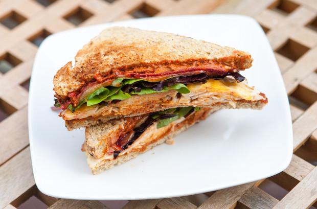 Romesco Sandwich | spachethespatula.com