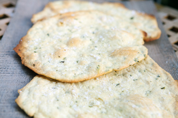 print rosemary sea salt flatbread crackers yield 3 flatbreads ...