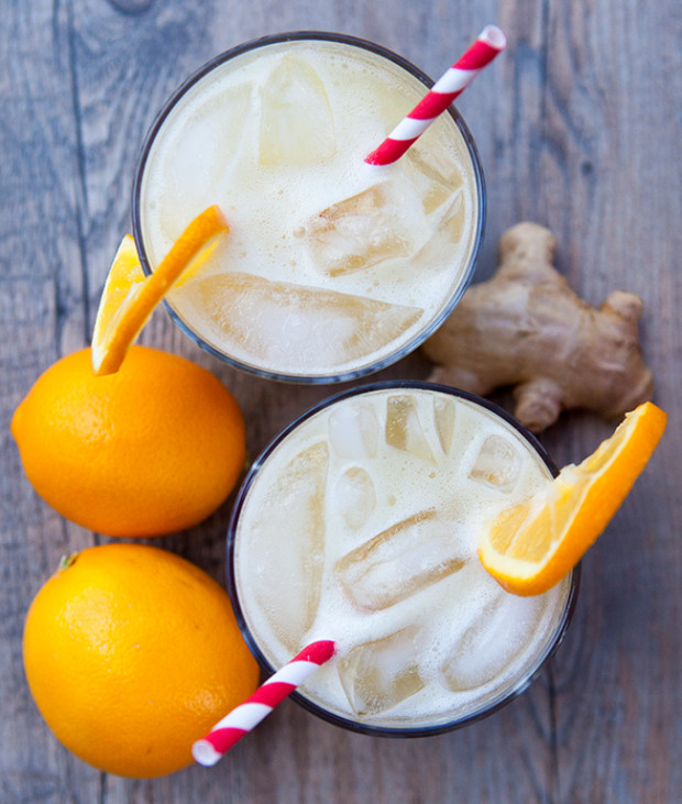 Spicy Ginger Meyer Lemonade