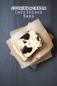 Cookies N' Cream Cheesecake Bars | spachethespatula.com #recipe