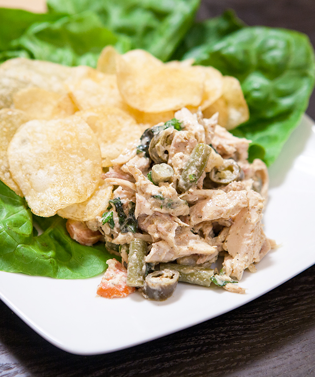 Chicken Salad with Pickled Vegetables