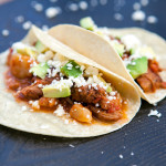 Pork Tinga Tacos | spachethespatula.com #recipe