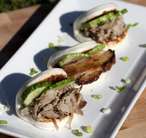 Pork Buns with Pork Belly or Pulled Pork Shoulder