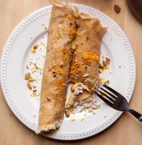 Cannoli Pancakes   spachethespatula.com #recipe
