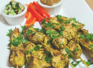 Chicken Satay (Sa-Te Kai)   spachethespatula.com #recipe
