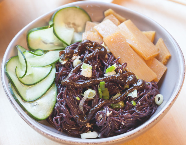 Ginger-Scallion Noodles | spachethespatula.com #recipe