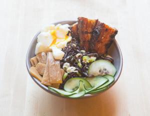 Ginger-Scallion Noodles   spachethespatula.com #recipe