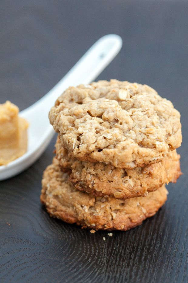 Miso-Oatmeal Cookies