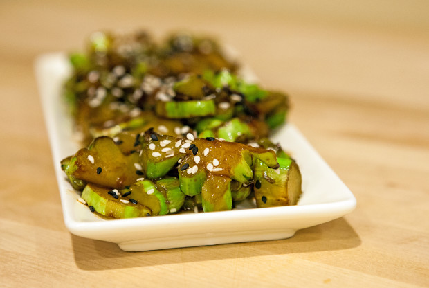 Stir-Fried Broccoli Stems | spachethespatula.com #recipe