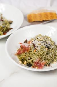 Pasta with the Pine Nuts   spachethespatula.com #recipe