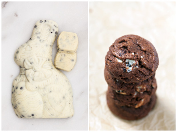 Chocolate Cookies N' Cream Cookies | spachethespatula.com #recipe