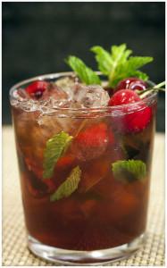 Cherry-Mint Julep