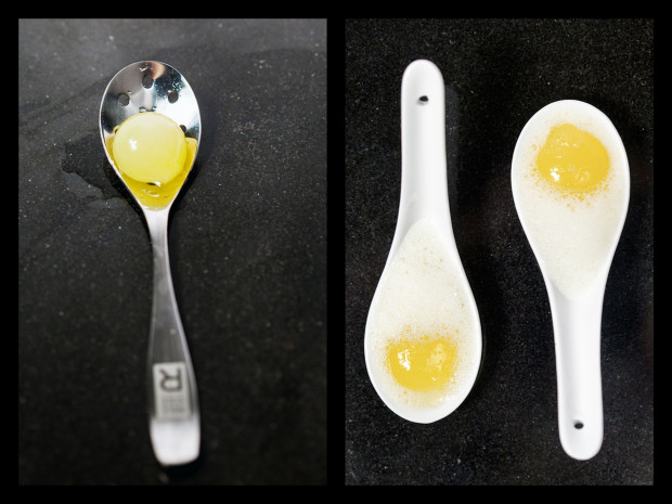 Piña Coladas...Molecular Gastronomy Style | spachethespatula.com #recipe