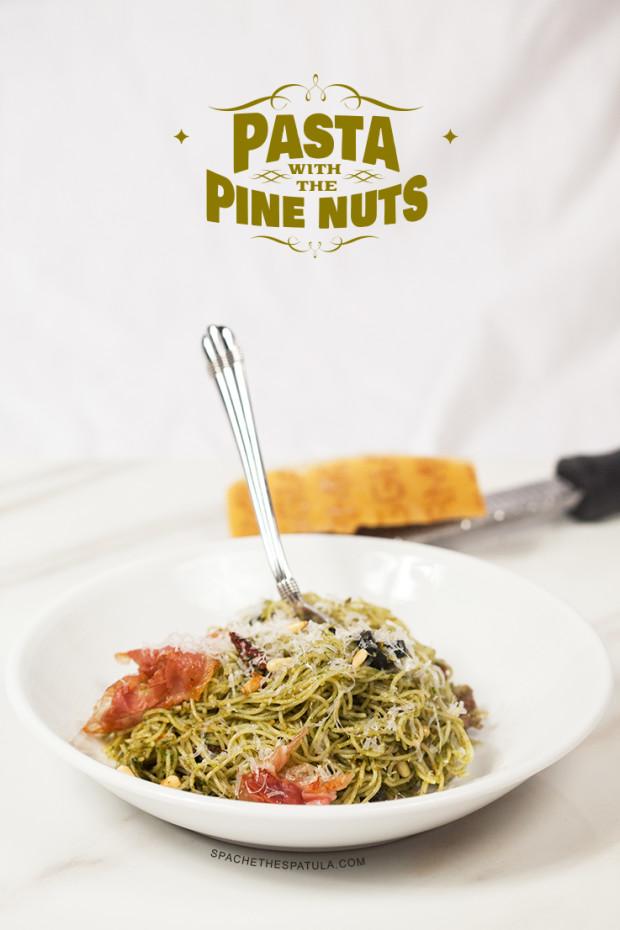 Pasta with the Pine Nuts | spachethespatula.com #recipe