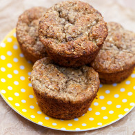 Banana Oat Muffins #glutenfree | spachethespatula.com #recipe
