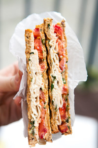 Turkey and Tomato Panini | spachethespatula.com #recipe