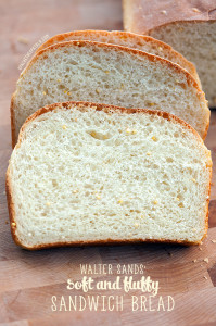 Walter Sands' Soft and Fluffy Sandwich Bread | spachethespatula.com #recipe