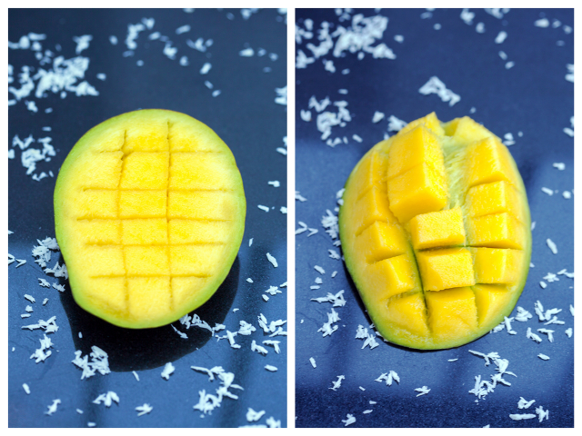 How to cut a mango!