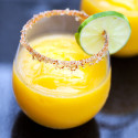 Mango-ritas with Spicy-Sweet Lime Salt | spachethespatula.com #recipe