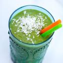 Tropical Green Smoothie | spachethespatula.com #recipe