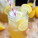 Honey-Lavender Lemonade | spachethespatula.com #recipe