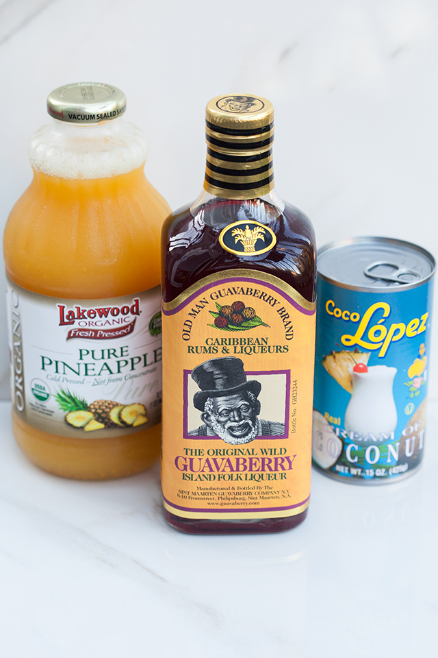 The Famous Sint Maarten Guavaberry Colada | spachethespatula.com #recipe