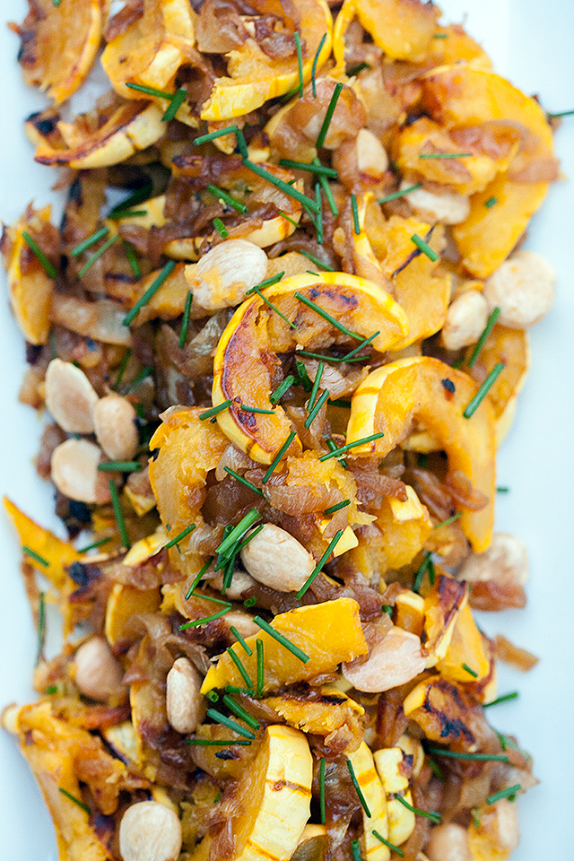 squash lemon miso quinoa with delicata squash recipes miso