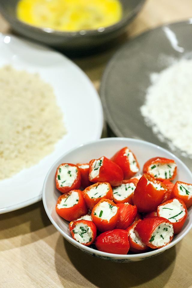 Feta and Chive Peppadew Poppers | spachethespatula.com #recipe