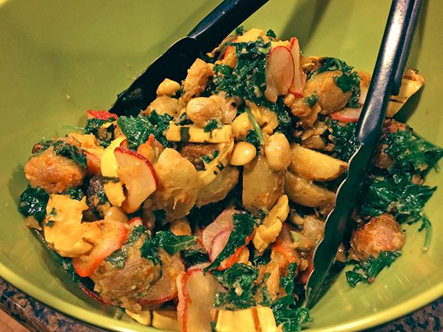 Miso Harissa Delicata Squash and Caramelized Onions | Spache the ...
