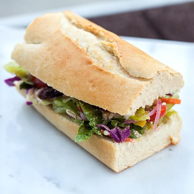 Greek Salad Sandwich Recipes — Dishmaps