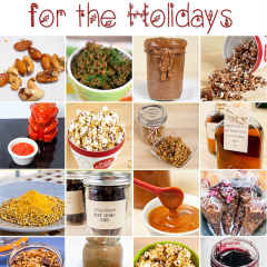 If you really want to impress your loved ones this holiday season, opt for homemade gifts! These ideas are simple and crazy delicious! | spachethespatula.com #recipe