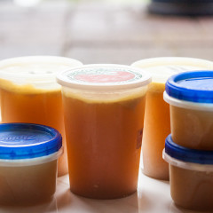 Making your own stock is really simple, and SO much better than the store-bought stuff! | spachethespatula.com #recipe