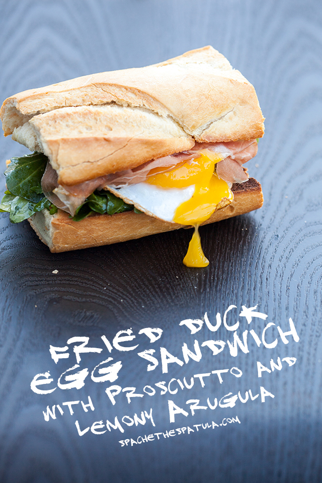 This a perfect simple, breakfast-y sandwich that you can eat anytime of day, and prepare in less than 10 minutes! | spachethespatula.com #recipe
