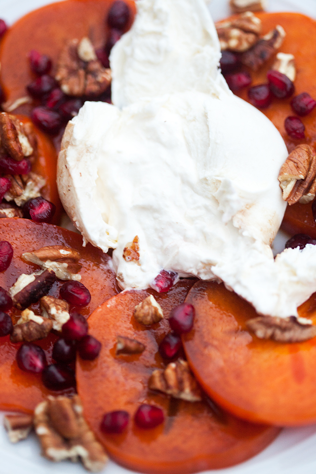 A creamy, crisp, fruity, and oh-so-satisfying dish that is a fantastic ode to Autumn | spachethespatula.com #recipe