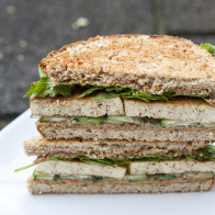 I have been eating this strange-sounding #vegan sandwich for almost 10 years, and it's a personal favorite! | spachethespatula.com #recipe