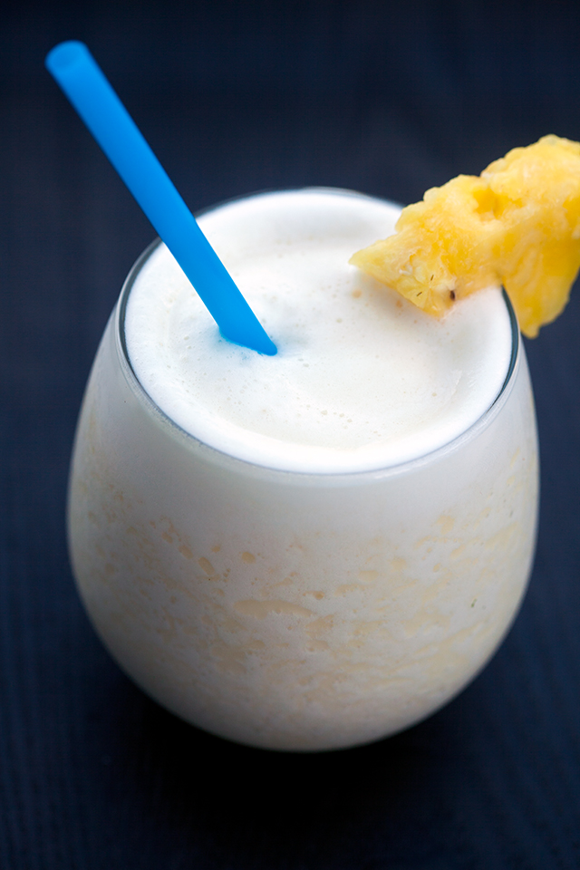 The easiest piña colada, ever! | spachethespatula.com #recipe