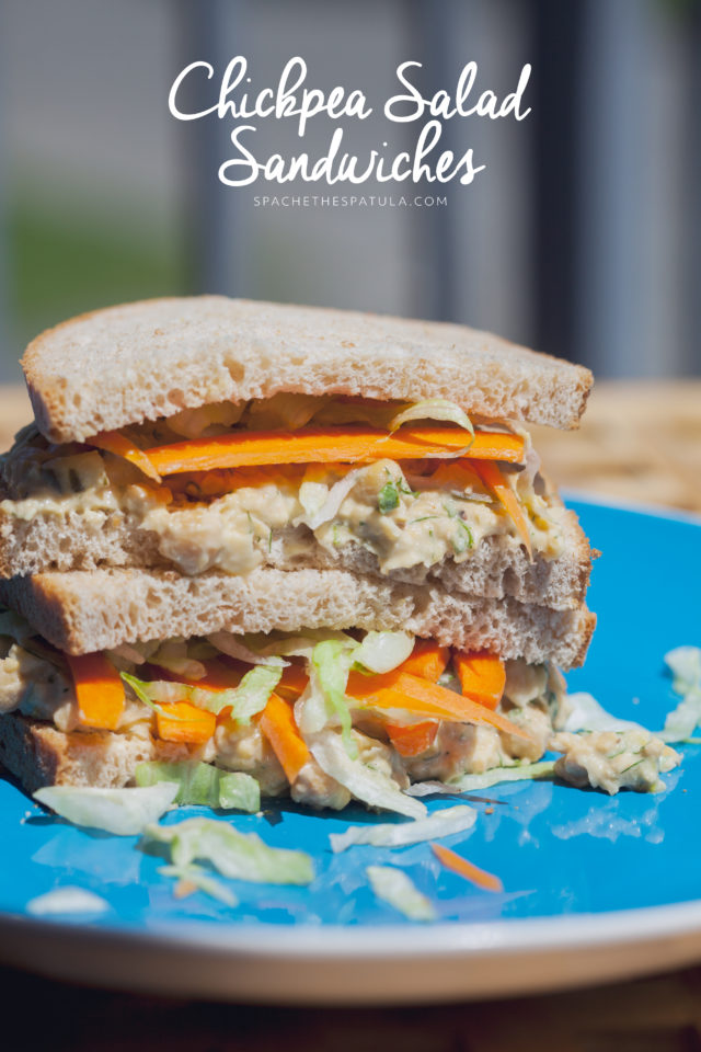 Creamy, crunchy, and totally tasty---the best sandwich you've probably never tried | spachethespatula.com #recipe #vegan