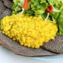 Ethiopian Feast: Yekik Alicha (Turmeric Yellow Split Peas)