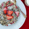 Strawberries and Cream Breakfast Quinoa